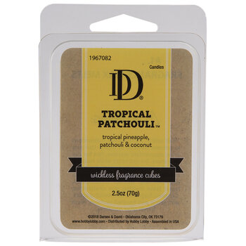 Tropical Patchouli Fragrance Cubes