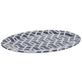 Blue Trellis Platter