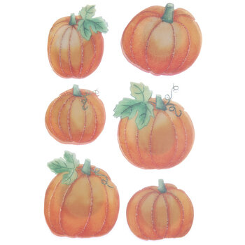 Pumpkin 3D Stickers
