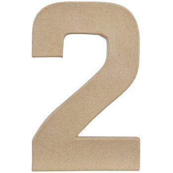 """Paper Mache Number 2 - 8"""""""