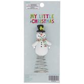 Snowman Mini Tree Topper