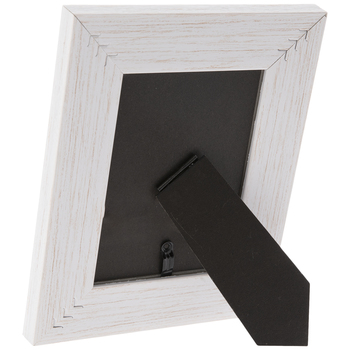 White Distressed Wood Look Frame
