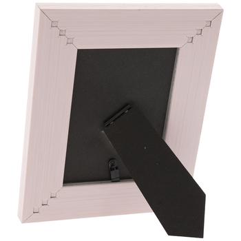 PinkDistressed Wood Look Frame