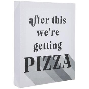 Getting Pizza Canvas Wall Decor