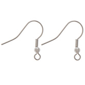 Fish Hook Ear Wires - 20mm