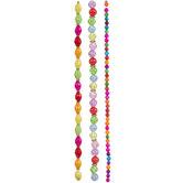 Neon Glass Bead Strands