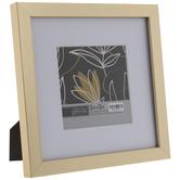 "Gold Brushed Flat Frame - 5"" x 5"""