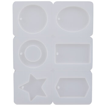 Assorted Keychains Resin Mold