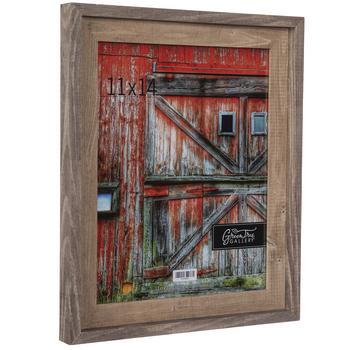 "Two-Tone Barnwood Wall Frame - 11"" x 14"""