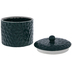 Green Textured Canister - Large