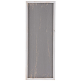 Gray & White Rectangle Wood Wall Decor