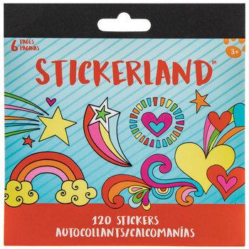 Hearts & Rainbows Stickerland Stickers