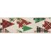 Christmas Tree Wired Edge Ribbon - 2 1/2