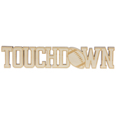 Touchdown Wood Cutout