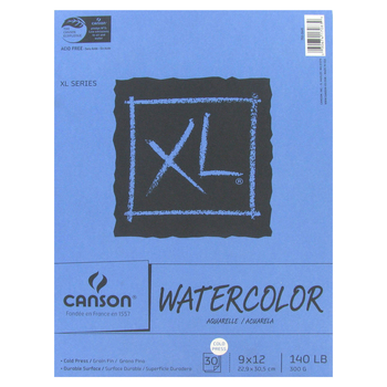 """Canson XL Watercolor Paper Pad - 9"""" x 12"""""""