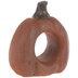 Orange Distressed Pumpkin Napkin Ring