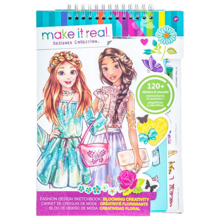 Blooming Creativity Fashion Design Sketchbook Hobby Lobby 1461573