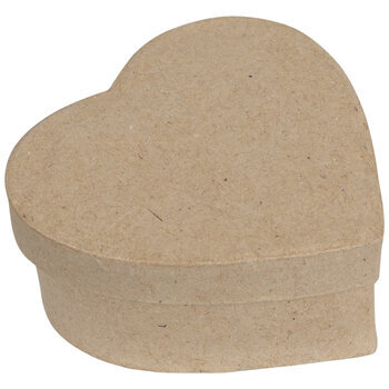 Heart Paper Mache Boxes - Small