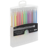 Pastel & Glitter Artist Gel Pens - 24 Piece Set