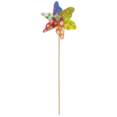 Multi-Color Daisies Pinwheel Pick