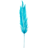 Tiff Blue Dyed Ostrich Feather Pick