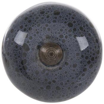 Navy Bubble Knob