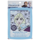 Frozen 2 Rubbing Plate Activity Kit