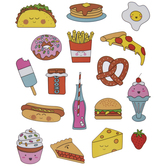 Food Icon Stickers
