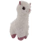 Pink & White Plush Llama