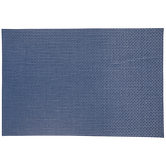 Navy Rectangle Woven Placemat