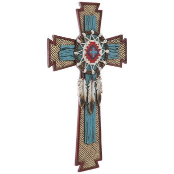 Native American Wall Cross