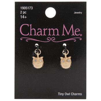 Owl Rhinestone Charms