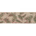 Red Glitter Berry & Branch Wired Edge Ribbon - 2 1/2