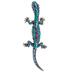Salamander Rhinestone Brooch