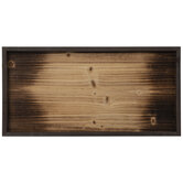 Light & Dark Brown Rectangle Wood Wall Decor