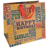 Kraft Birthday Gift Bag