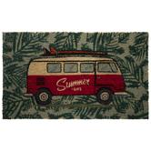 Summer Life Van With Surf Board Doormat