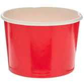 Red Paper Snack Cups
