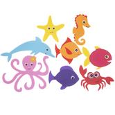 Ocean Friend Foam Stickers