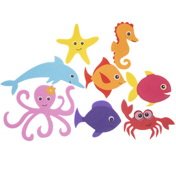 Ocean Friend Foam Stickers