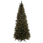 Fast Shape Sierra Cashmere Pre-Lit Christmas Tree - 9'