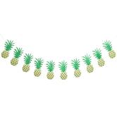 Glitter Pineapple Banner
