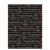 "Black & Cream Sheet Music Scrapbook Paper - 8 1/2"" x 11"""