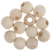 Natural Round Wood Beads - 25mm