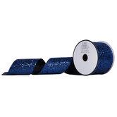 """Glitter Cut Edge Ribbon - 2 1/2"""""""