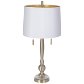 Gold Metal Lamp