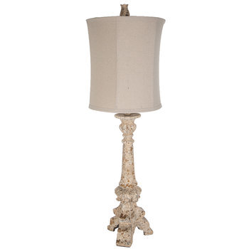 Distressed Tripod Lamp