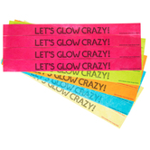 Let's Glow Crazy Paper Wristbands
