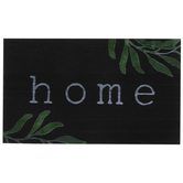 Home With Greenery Wood Decor