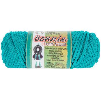 Turquoise Bonnie Braided Macrame Craft Cord - 4mm